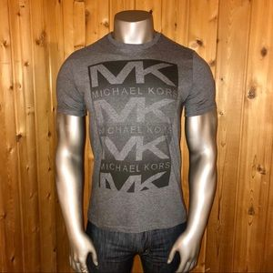 NWT! Michael Kors Box Logo Men's Medium T-Shirt